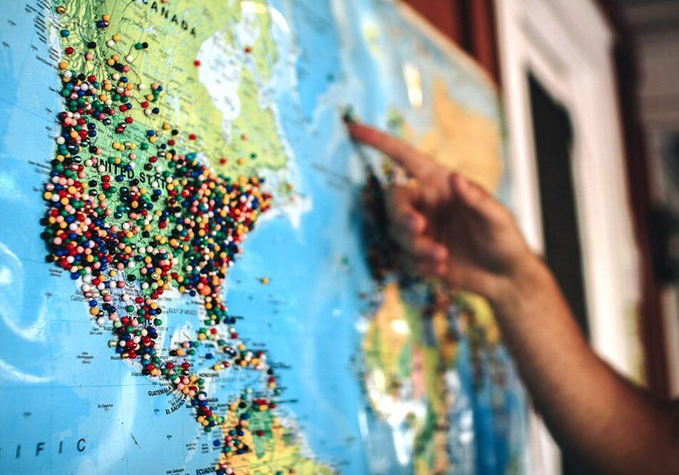 Explore regions.